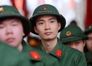 Tiêu chí và điểm chuẩn đầu vào vào khối ngành Quân đội năm 2019