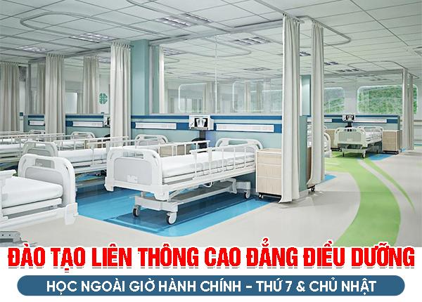 Đào tạo Liên thông Cao đẳng Điều dưỡng Hà Nội được cấp bằng sau 15 tháng
