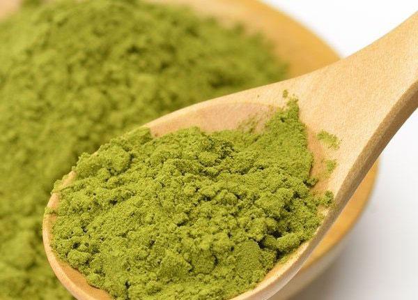 Bột trà xanh có tác dụng rất tốt đối với da